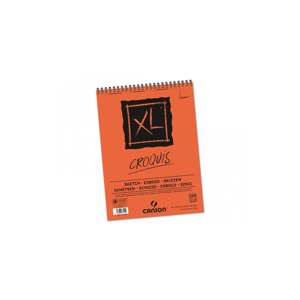 BLOC CANSON XL CROQUIS A2...