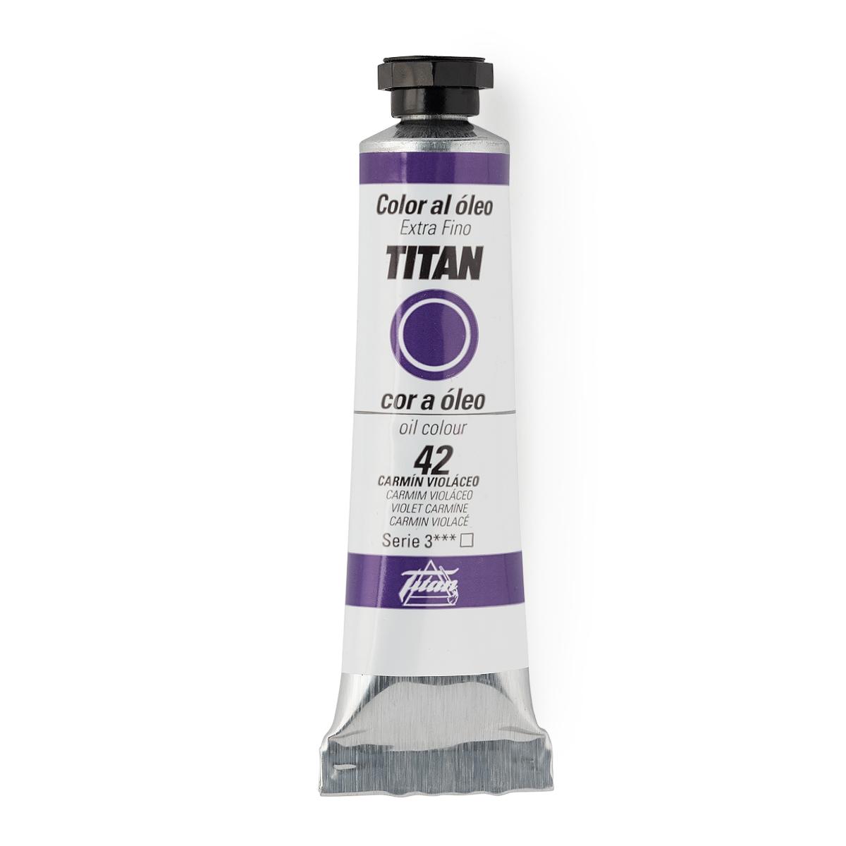 OLEO TITAN Nº42 20ML CARMIN...