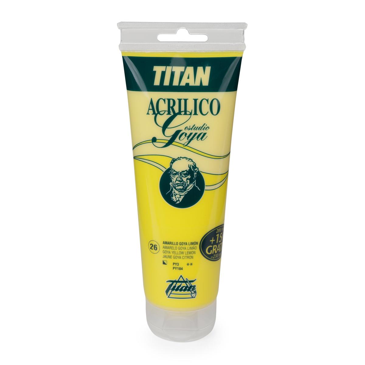 ACRILICO GOYA TITAN 200 ML...