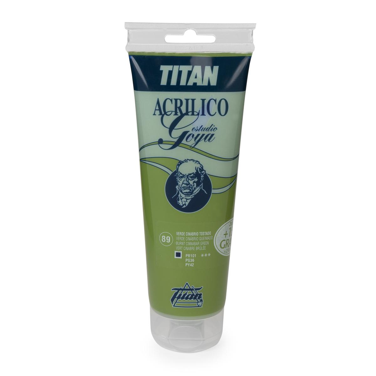ACRILICO GOYA TITAN 230ML...