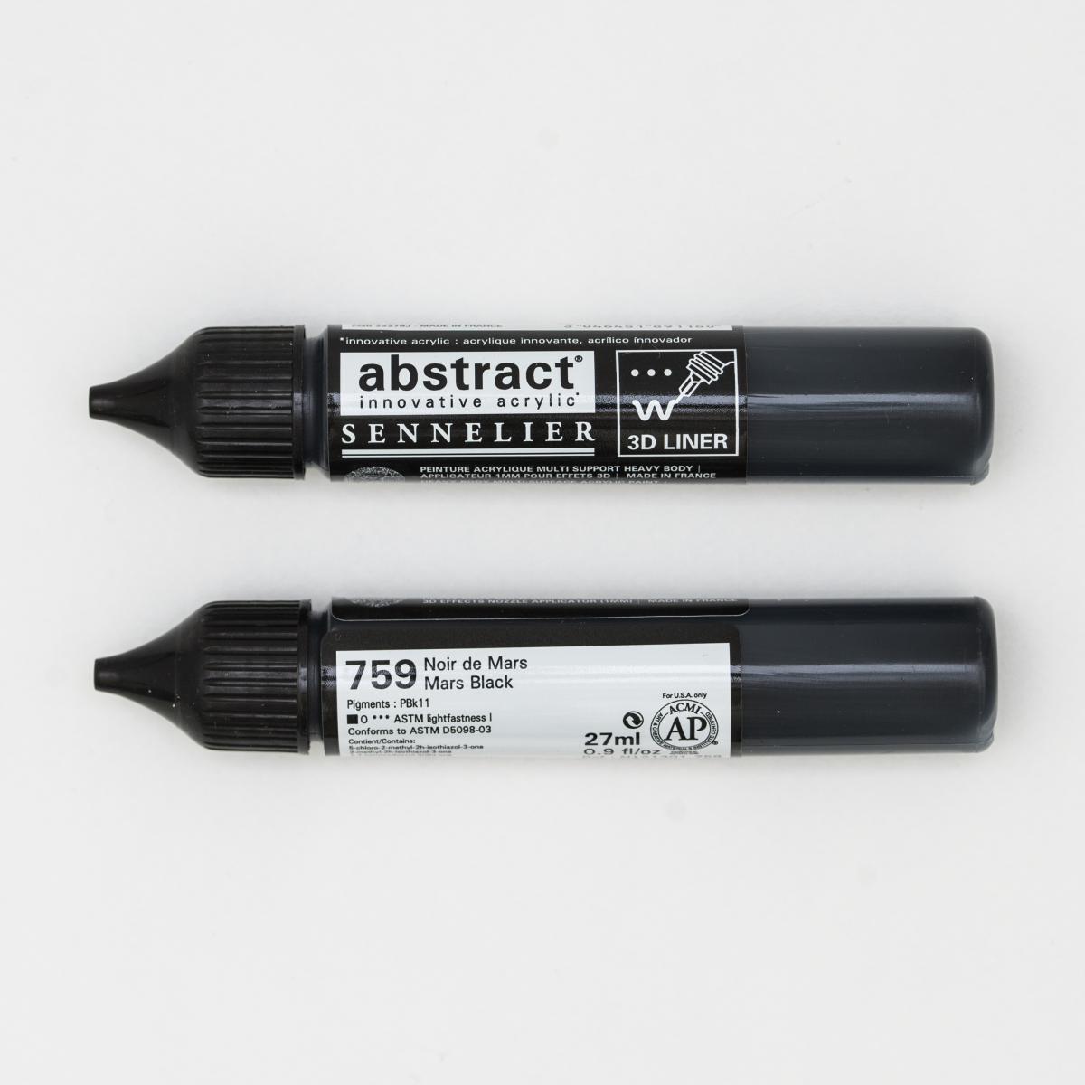 ABSTRACT LINER 759 NEGRO DE...