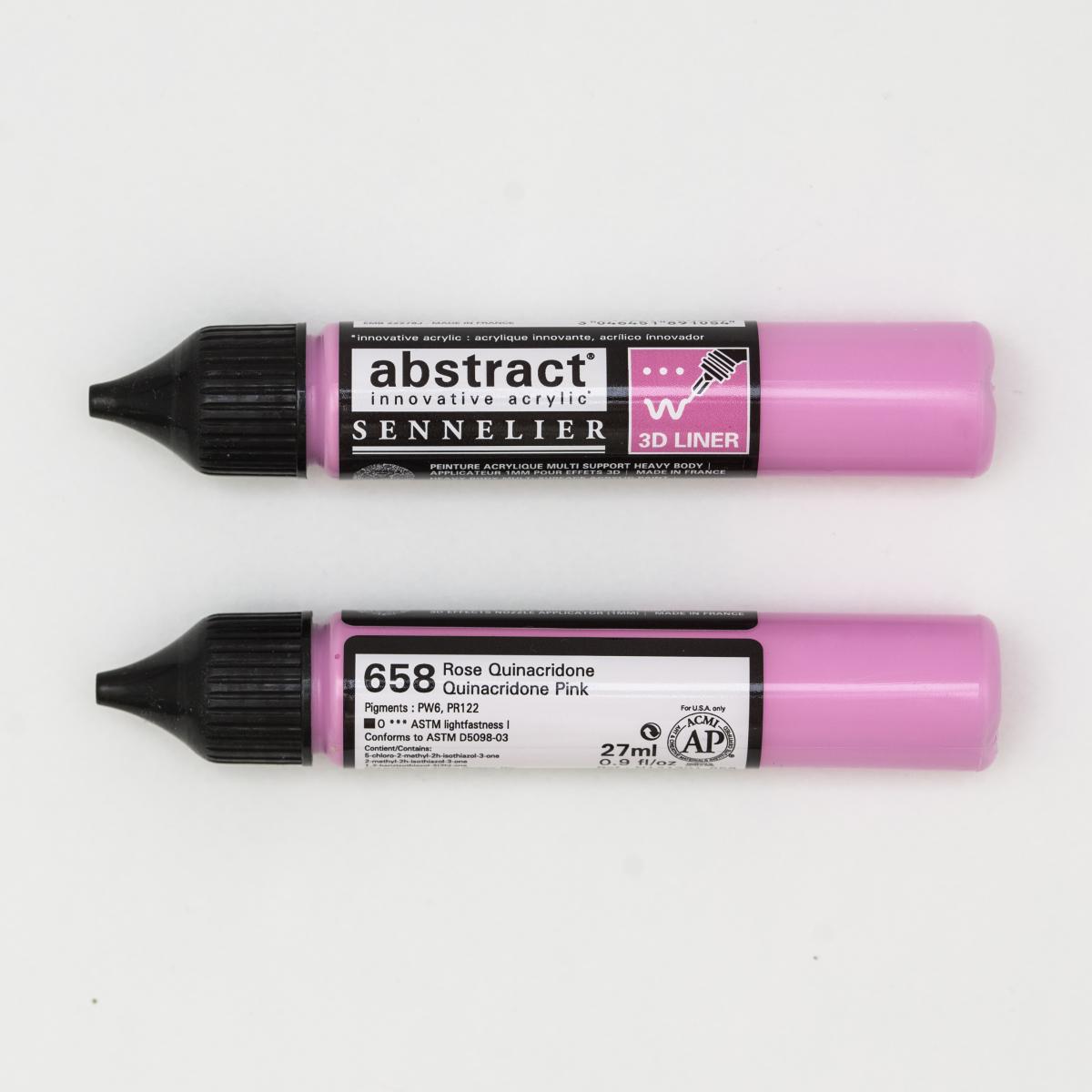 ABSTRACT LINER 658 ROSA DE...