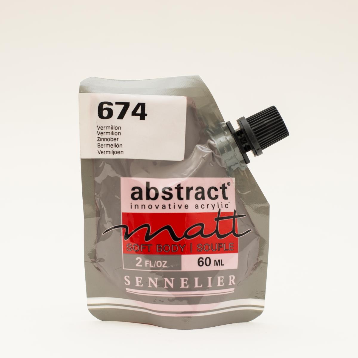 ABSTRACT MATT 674 BERMELLÓN