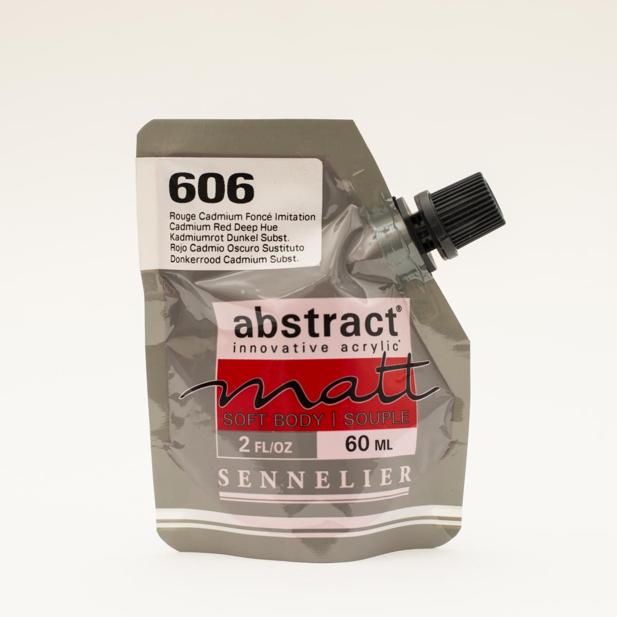 ABSTRACT MATT 606 ROJO...