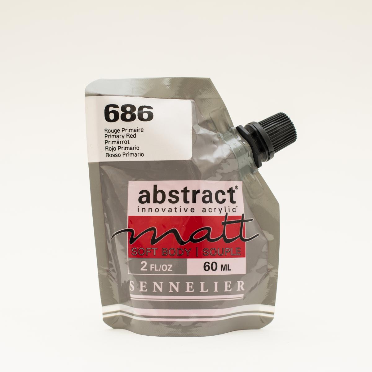 ABSTRACT MATT 686 ROJO...