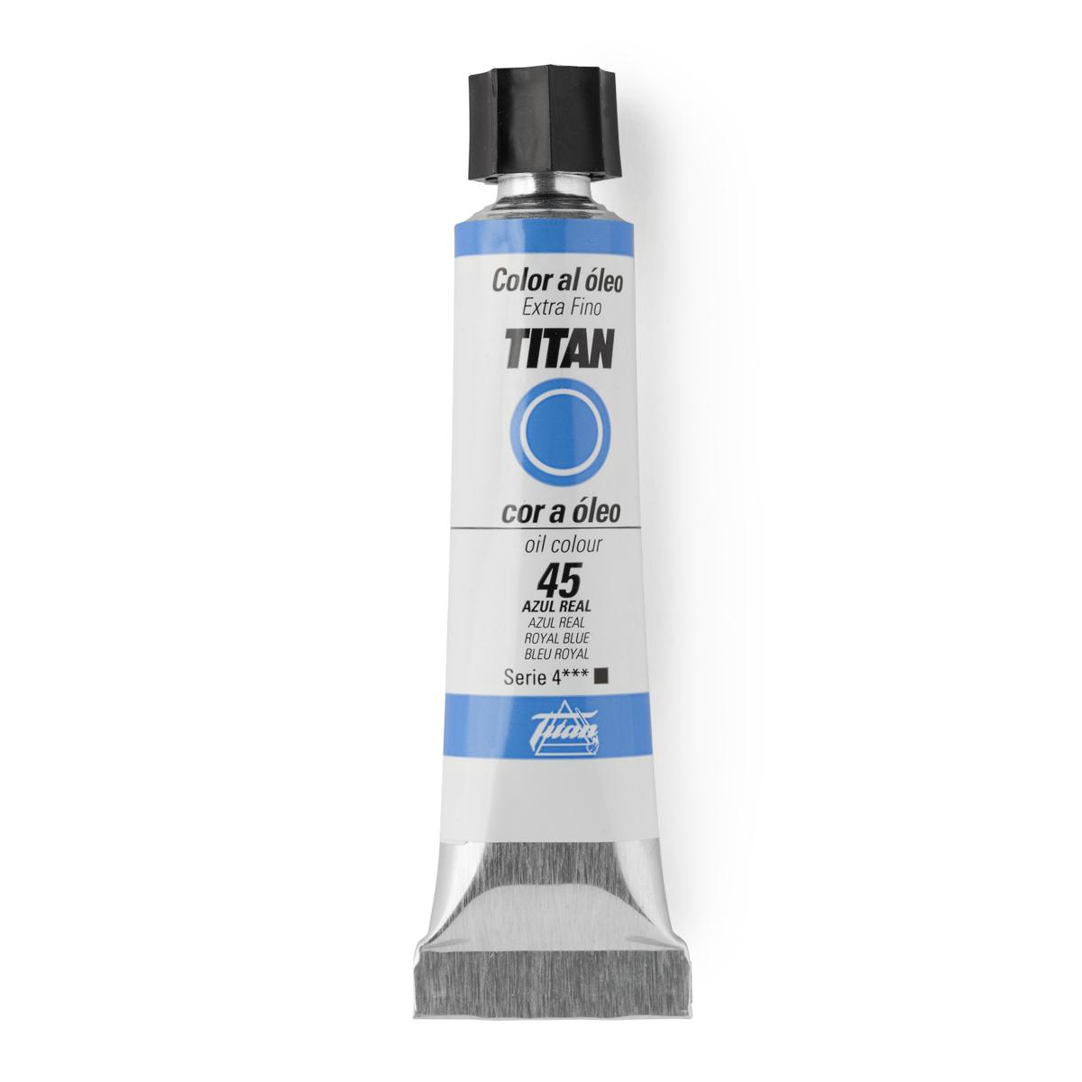 OLEO TITAN Nº45 20ML AZUL REAL