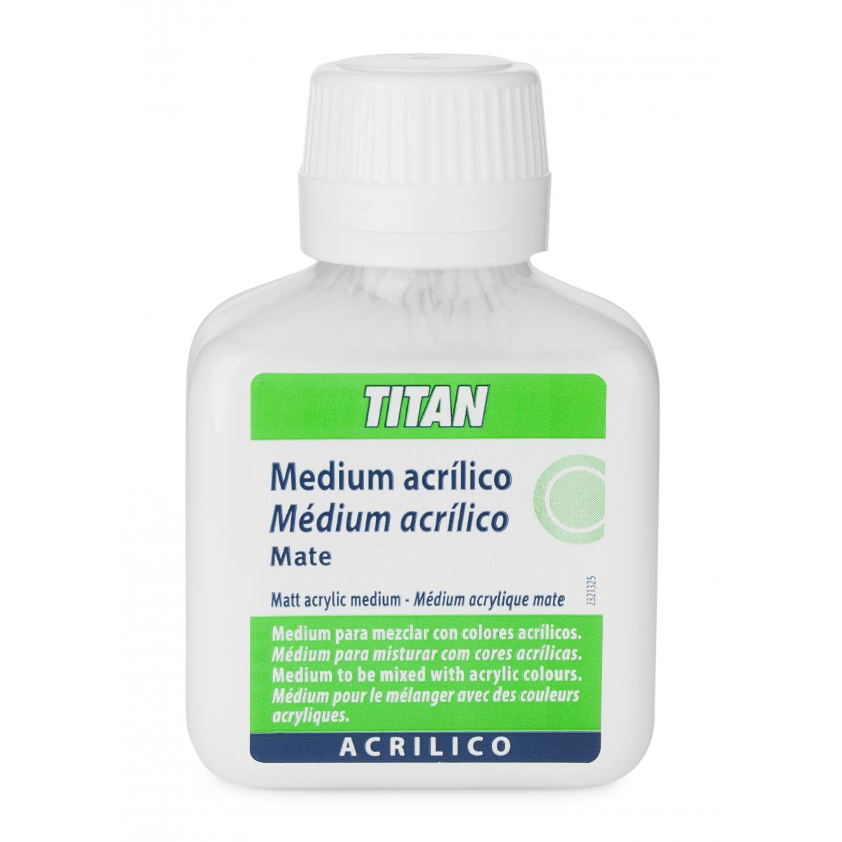 MEDIUM ACRILICO MATE TITAN...