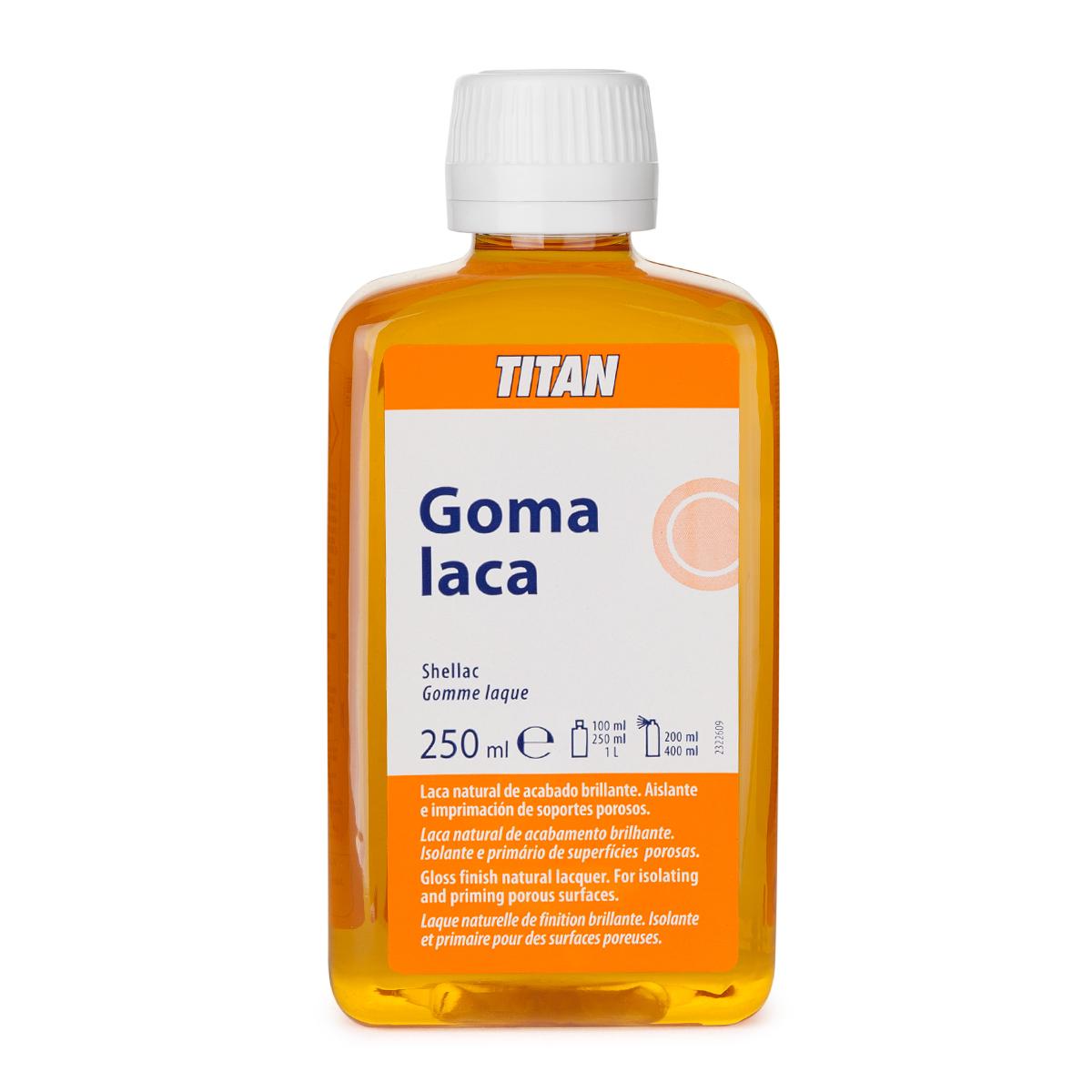 GOMA LACA TITAN 250ML