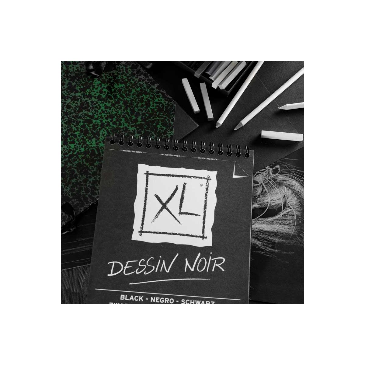 BLOC CANSON XL DESSIN NOIR...