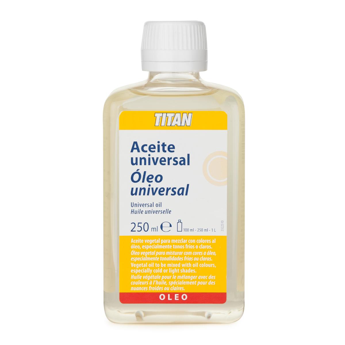 ACEITE UNIVERSAL TITAN 250 ML
