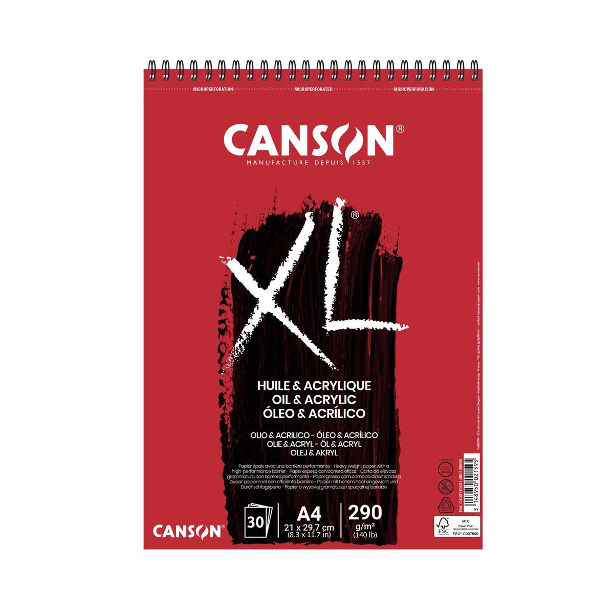 BLOC CANSON XL ÓLEO &...