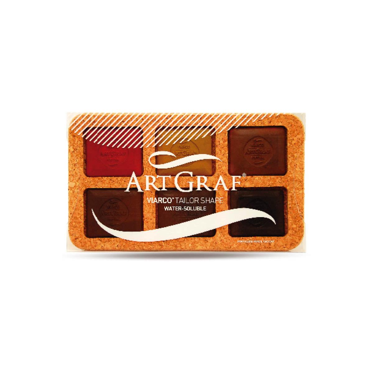 ARTGRAF SET 6 COLORES...