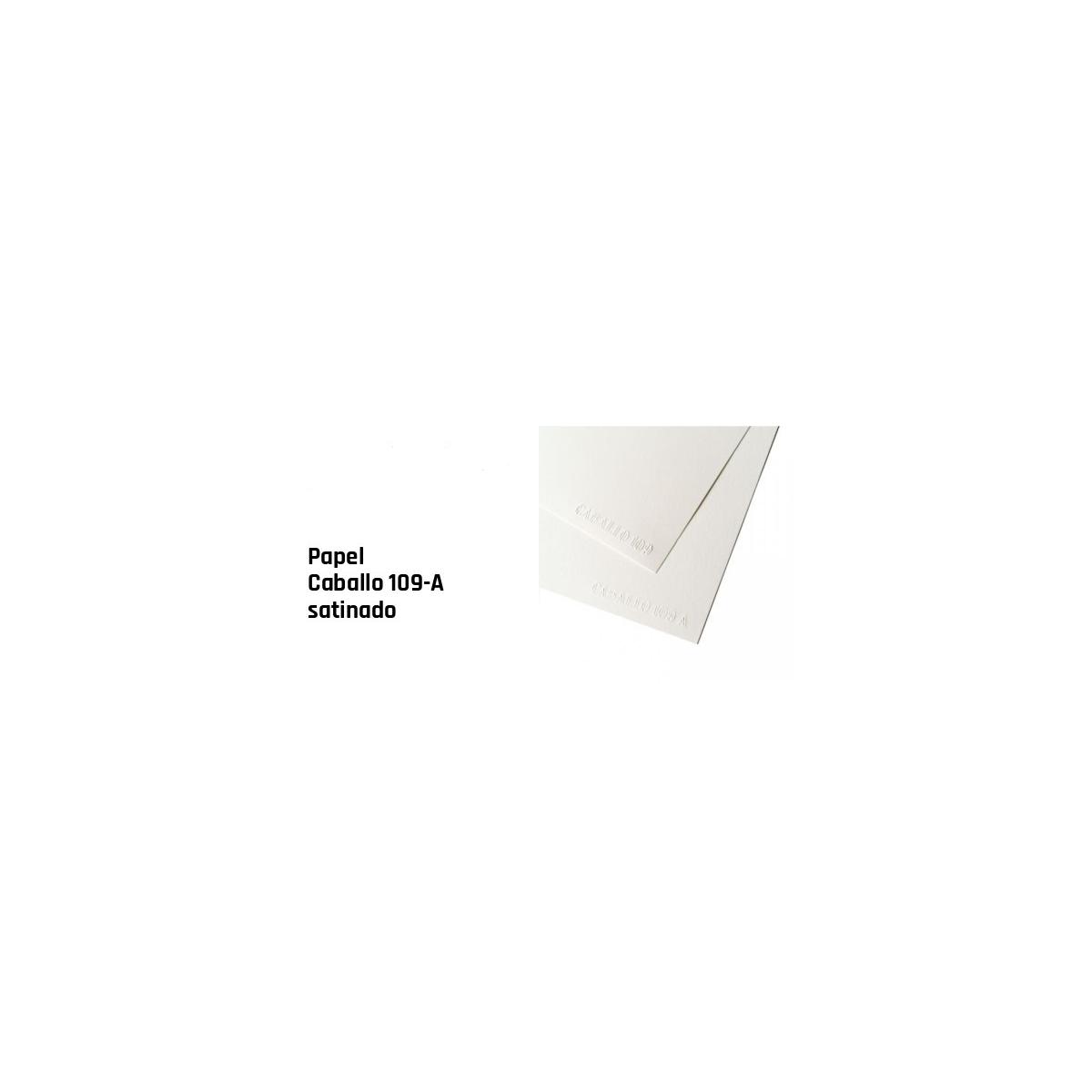 PAPEL CABALLO 109 A4 250GR...