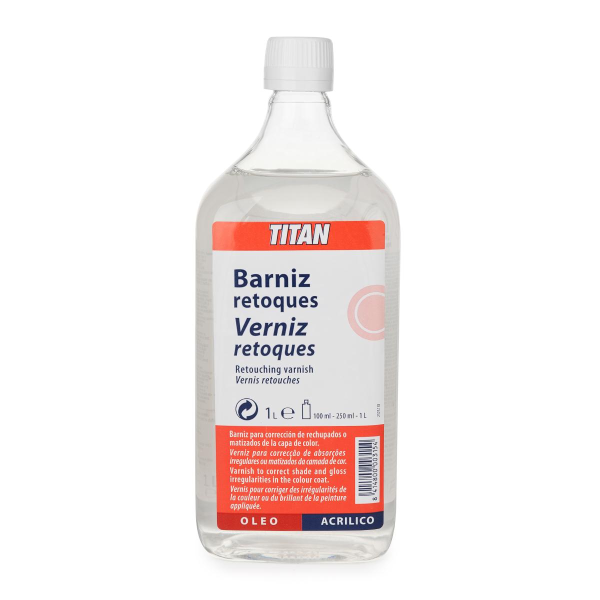 BARNIZ RETOQUES TITAN 1L