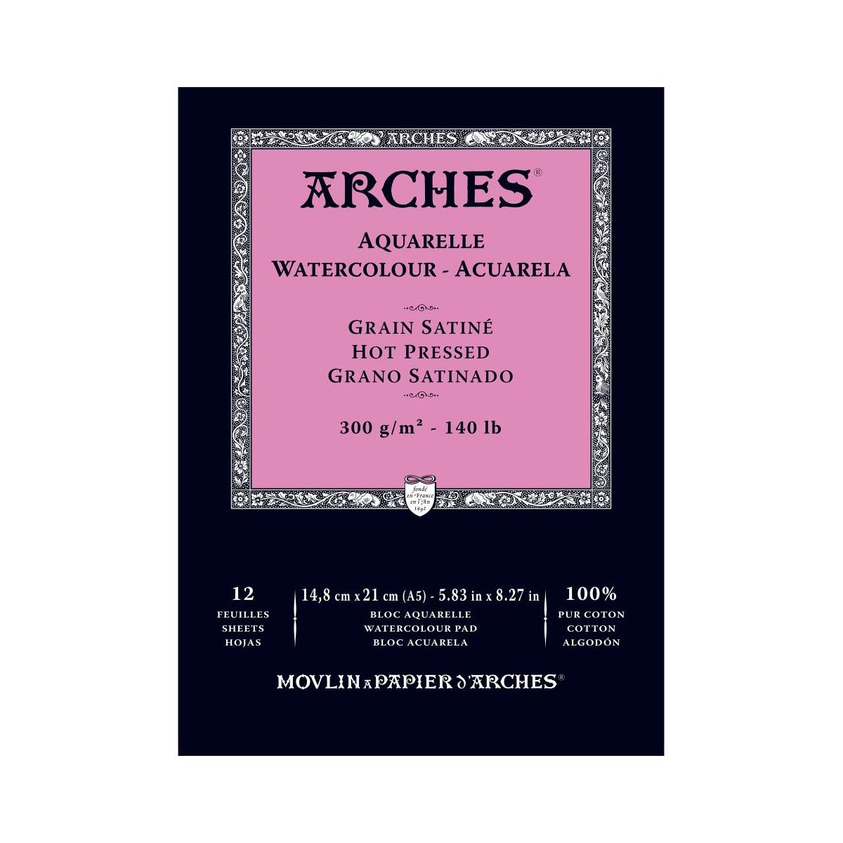 BLOC ARCHES A5 300 GRAMOS...