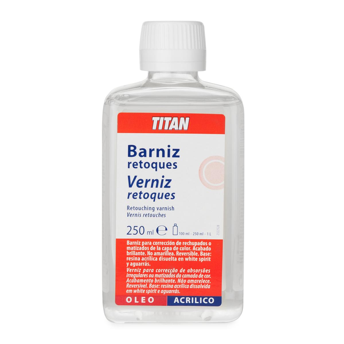 BARNIZ RETOQUES TITAN 250ML