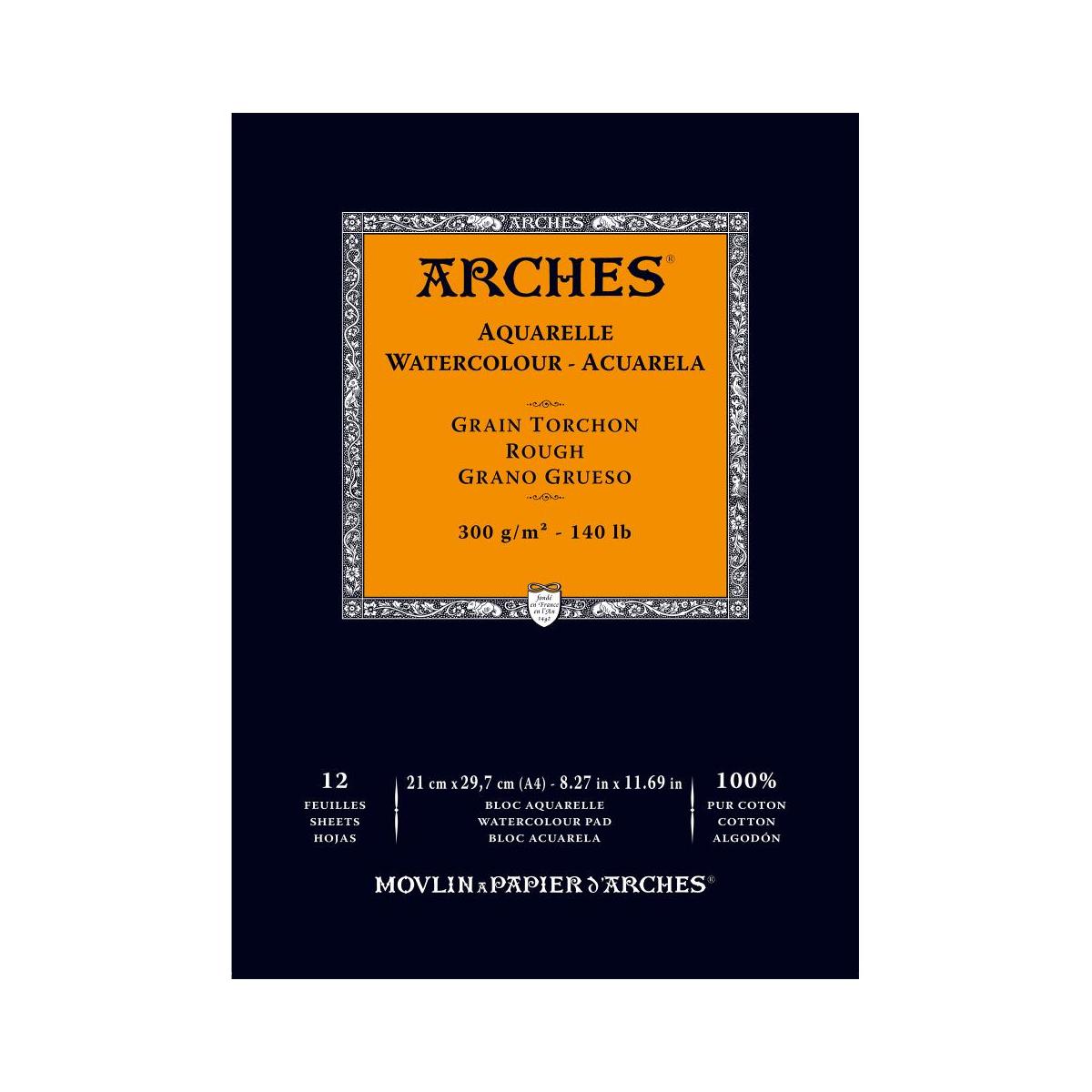 BLOC ARCHES A4 300 GRAMOS...