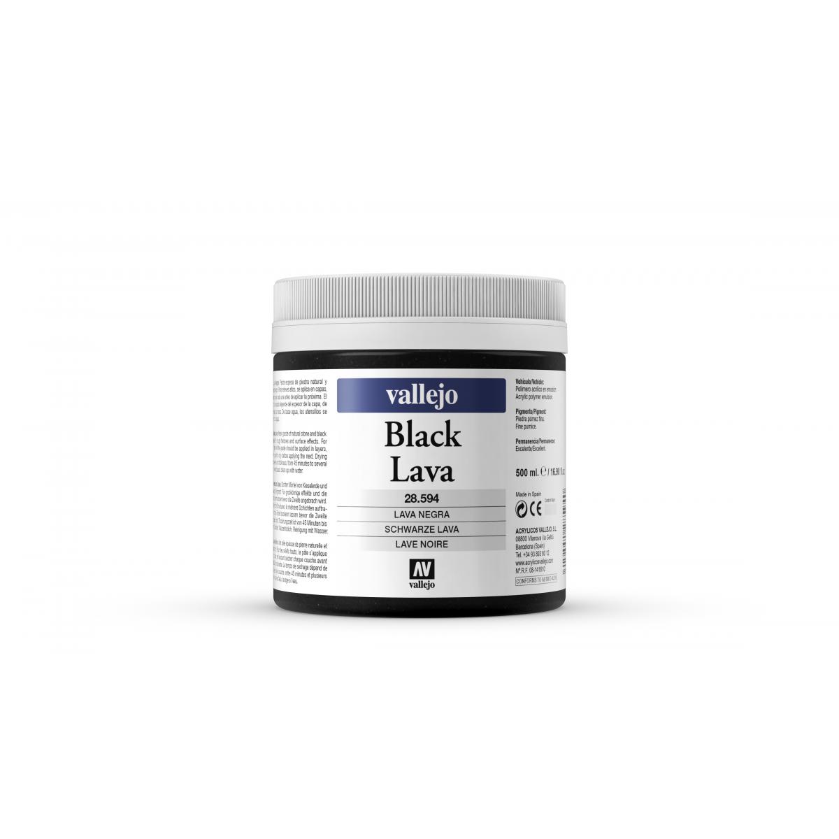 28.594 BLACK LAVA VALLEJO...