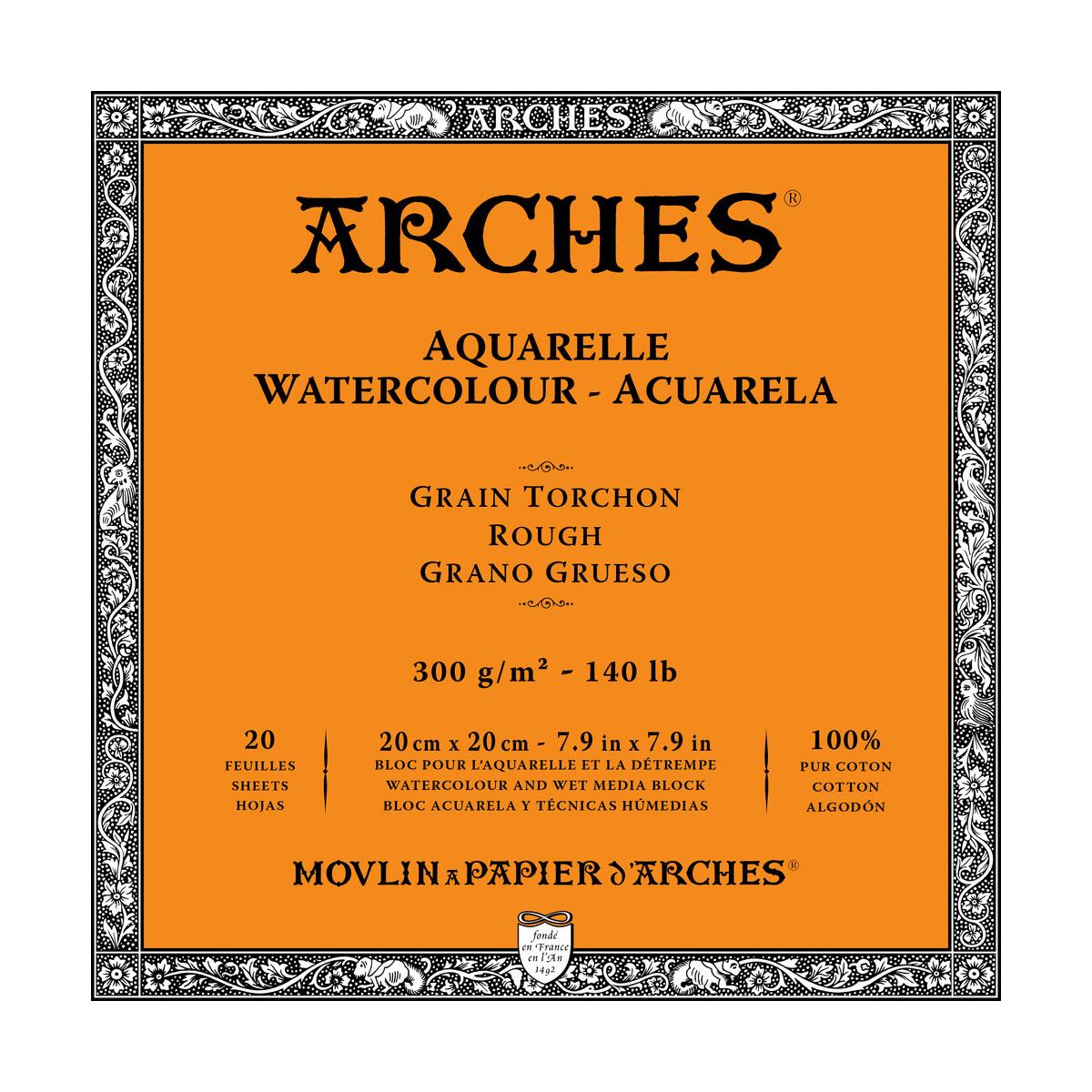 BLOC ARCHES 20x20 CM 300...