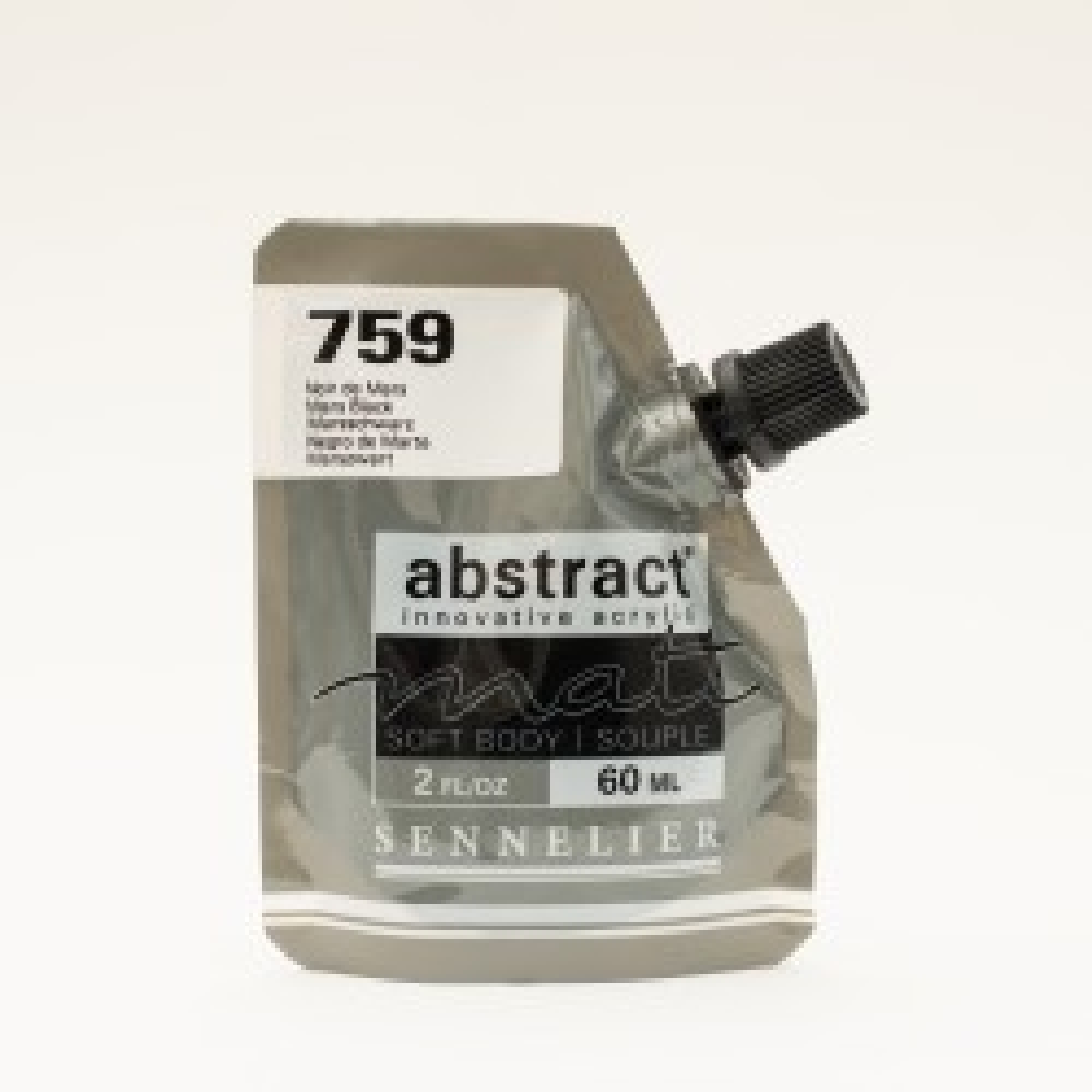 ABSTRACT MATT 759 NEGRO DE...