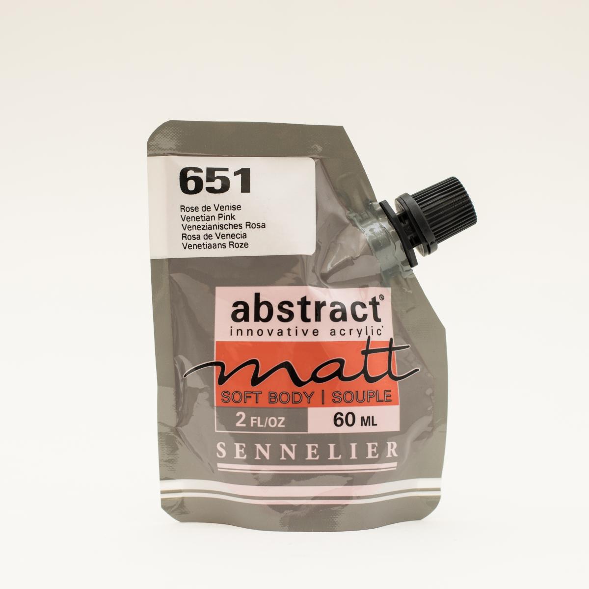 ABSTRACT MATT 651 ROSA DE...
