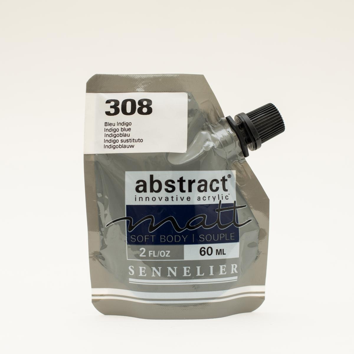 ABSTRACT MATT 308 INDIGO...