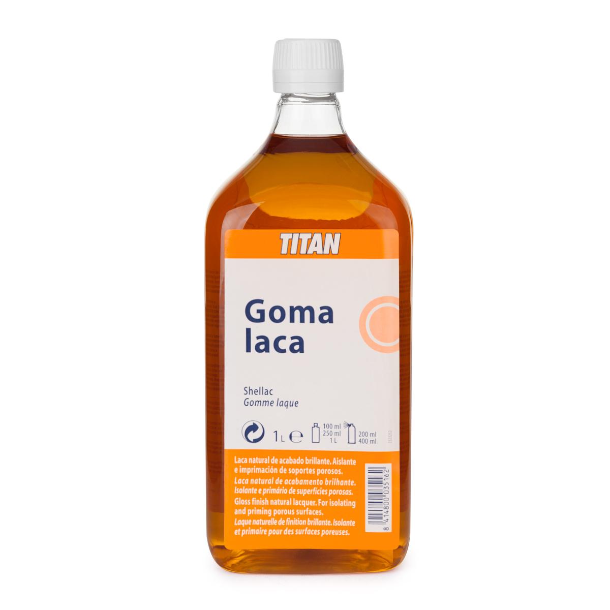 GOMA LACA TITAN 1L