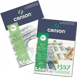 BLOC CANSON 1557 A3 180G...