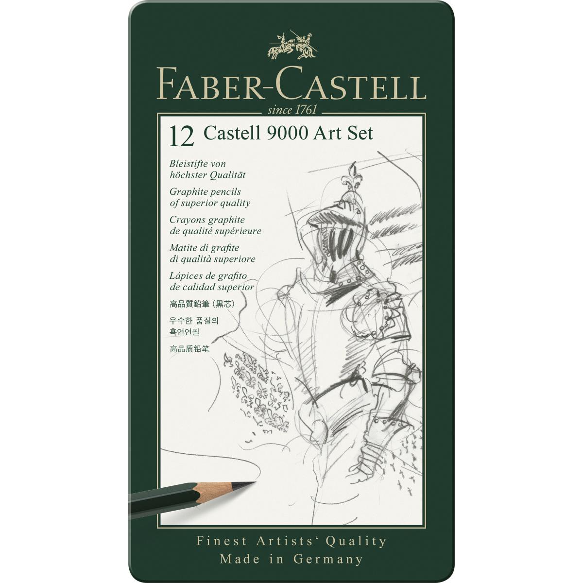 ESTUCHE GRAFITO CASTELL9000...