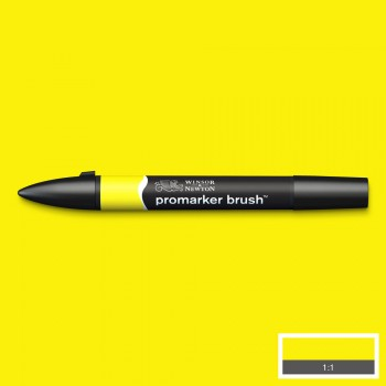 WN PROMARKER BRUSH YELLOW...