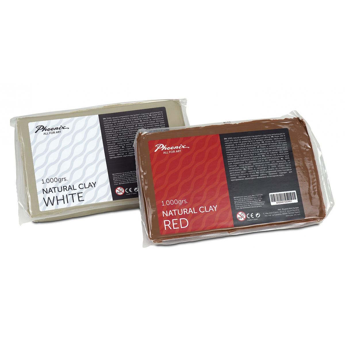 ARCILLA NATURAL CLAY RED 1...