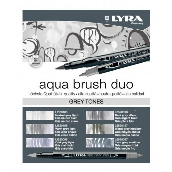 LYRA AQUA BRUSH DUO TONOS...