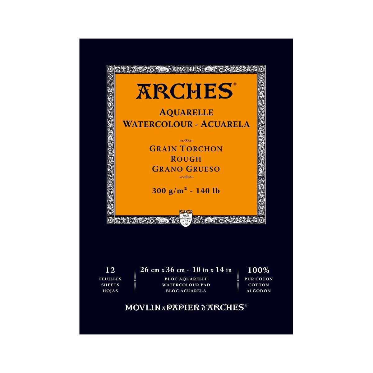 BLOC ARCHES 26x36 CM 300...