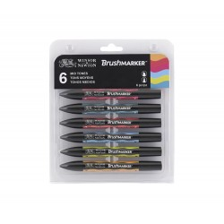 BRUSHMARKER W&N  SET TONOS...
